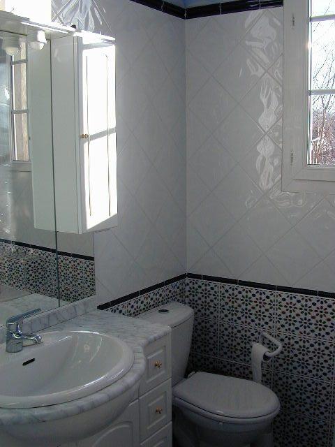 Salle de bain Azulejos