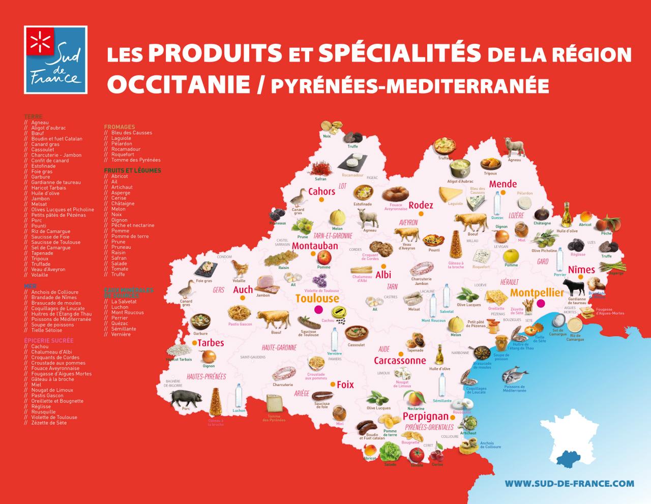 Carte-des-produits-et-spécialités-Sud-de-France